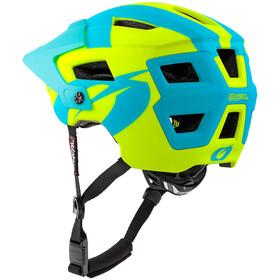 O'Neal Defender 2.0 Helmet sliver neon yellow/blue